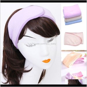& Tools Products Pink Spa Bath Shower Make Up Aessories Cosmetic Headband Wash Face Hair Band For Women Drop Delivery 2021 6Fhb8