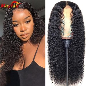 13x4 28 Inch Jerry Curly Lace Front Wig Lacefront Frontal Brazilian Human Hair Kinky Pre Plucked 4x4 Closure Wigs