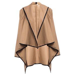 Women Trench Coat Casual Long Sleeve S-4XL Long Coats Windbreaker Longs Loose Windbreaker Trench for Womens