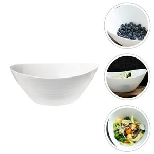 Bowls 1Pc Simple Toughened Glass Bowl Heat Resistance Household Soup