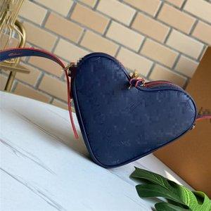 Сердца в форме сердца 22см сердца Сумки на ремне высокого качества женская сумка мини модный кошелек реальная кожаная сумка Applices PVC сумки