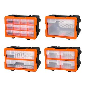 Tool Organizers Plastic Tools Storage Box, Heavy-duty Screw Case Electronic Holder Components Box Small Parts Organizer