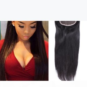 5*5 6*6 Closure Straight Hair 5 5 Lace Closure Virgin Human Hair Brazilian Peruvian Indian Malaysian Bella hair Top Closure