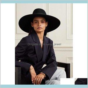 Fashion Accessories Hats Scarves Gloves Caps Berets Maison Michel Autumn And Winter 100 Top Felt Hat Rydek