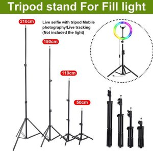 2.1m Adjustible Stable Light Camera Tripod Stand Mobile Phone Holder To Take Photos Video live Broadcast