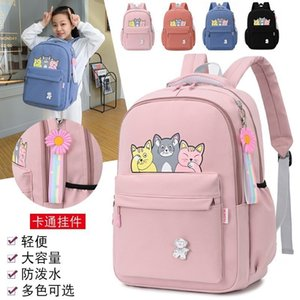 Schoolbag female student's large capacity backpack of Forest Department