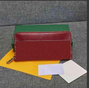 Hommes de haute qualité Hommes Cuir PU Marque Classic Luxe Goya Portefeuille Sarah Damier graphite mince multiple Marco Casual Casual Designer Porte-cartes Portefeuilles No Coffret