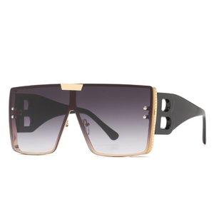 Moda 2021 Retro para hombre Mujeres Sun Gafas Gafas Gafas Polarizadas Polarizadas Unisex Sunglass de gran tamaño
