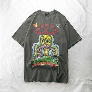 Homens camisetas T-shirt de algodão de qualidade Segure a porta xxxtacion Kanye temporada 6 camisetas CA6S