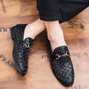 Luxurys Designers Shoes Wanjia 035 New Slip-on Light Bottom Leather Shoes 38-45 Size Batch 62 Yuan.