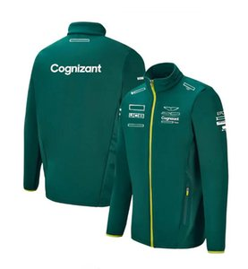 F1 team racing jacket, 2021 men's and women's long-sleeved sweatshirts are the same as customized