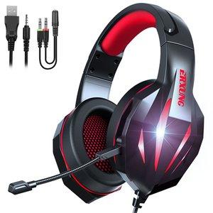 Wired headphones headband ERXUNG H100 headsets black red blue good quality girls