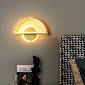 Wall Lamps Bedroom Bedside Lamp Simple Modern Home Living Room Background Corridor Staircase Ceiling Light