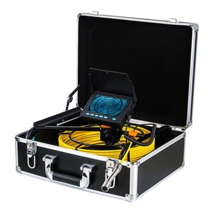 4.3 Inch LCD Screen Waterproof 17mm Snake Camera 20 30 50M Sewer Pipeline Industrial Endoscope Pipe Inspection Video Fish Finder