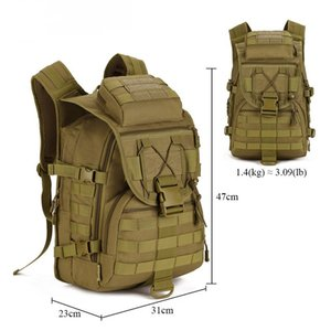 Hot Molle Tactical Backpack Military Backpack Nylon Waterproof Army Rucksack Outdoor Sports Camping Hiking Fishing Hunting Bag C1008