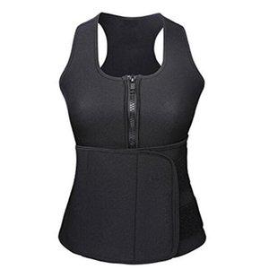 5pcs Waist Cincher Shaper Sweat Vest Trainer Tummy Girdle Control Corset Body Shapersfor Women Plus Size S M L XL XXL 3XL 4XL
