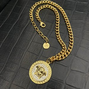 Ver Luxury Pendant Necklaces Fashion for Man Woman Highly Quality Women Party Wedding Lovers gift hip hop jewelry
