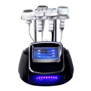 80k Zayıflama Çok fonksiyonlu Güzellik Ekipmanları Ultrason Kavitasyon RF Vakum Yağ Kilo Kaybı Yüz Germe Vücut Masaj Şekil Makinesi Azaltmak Ev ve Salon