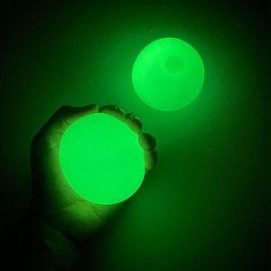 Gettare il bastone muro appiccicoso obiettivo Bal Squash Ball Globbli Balls Collante Soffitto 1J8Y
