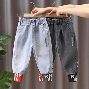 Children's Jeans Boys' 2021 Spring and Autumn 3 Korean Style Casual Pants Fashion 5