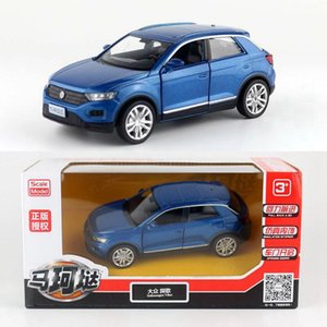 High simulation T-ROC SUV Model136 scale alloy pull back carCollection metal model toys