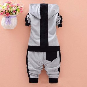 Toddler Baby Boys Girls Brand Costumes Veste de sport + Pantalon 2pcs / Ensembles Vêtements Set Enfants Tracksuits 466 Y2