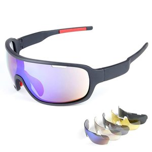 High Quality Brand Sunglasses Hot Polarized Sports Eyewear UV400 Mens Sun Glasses Womens Wind Proof Goggles Cycling Sunglasses with 5 Lenses