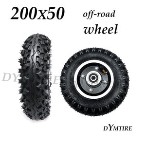 200x50 Front Wheel Off Road Tire For Mini Electric Scooter Anti Slip Wear Tyre Replacement Parts Motorcycle Wheels & Tires