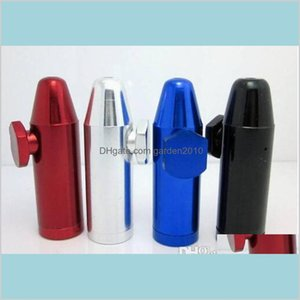 Smoking Pipes Accessories Household Sundries Home & Garden Shisha Hookah Grinder Gift Rolling Machine Paper Bullet Aluminum Metal Snuf