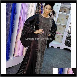 Etnik Eid Kaftan Abaya Dubai Müslüman Hijab Uzun Maxi Elbise Kadınlar Abayas Kaftan Ramazan İslam Giyim Robe Djellaba Femme Musulman1 LM R9ada