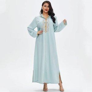 Африканские платья для женщин 2021 весеннее лето макси мусульманское длинное платье высокое качество моды абая африканская одежда этническая