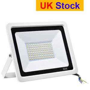 UK Stock Outdoor Lighting Led Floodlights 3 Colors Changing Color Temperature Adjustable 50W 100W 110V 220V IP65 Apply to courtyard Garden Garage