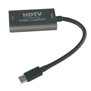 Type-C Video Capture Card To Game Live Recording Online Teaching Keyboards