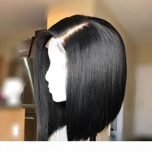 360 Frontal Full Lace Human Hair Wigs Short Bob Cut Glueless Peruvian Short Bob Human Hair Wigs 360 For Black Women