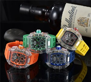 Luxury Watch Mens Sports Military Watches Multifunction Women Outdoor Sport Clock Rubber Strap Montres