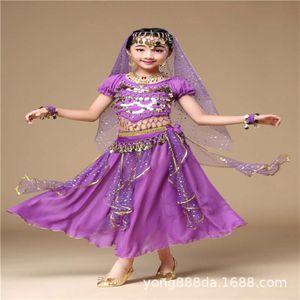 Платья повседневные индийские 61 девушка детский танец животно-танцевальный костюм