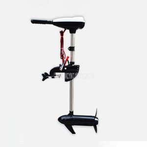 Electric Outboard Motor Propeller Inflatable Plastic Wooden Boat Engine High Quality 12V 28lb 36lb 46lb 50lb 60lb 68lb Rafts Inflatable Boat