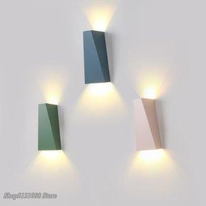 Wall Lamps Modern Led Lamp, Nordic Bedroom Lighting, Bathroom, Corridor, Living Room Wall, Interior Decoration Chandelier