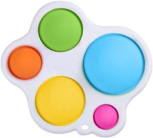 Dimple Fidget Toy Stress Relief e Anti-Ansiedade Brinquedos para Treinamento Lógico Pensamento Esprema Toy Sensory para Crianças Família e Amigos
