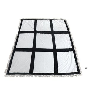 Sublimation Blanket White Blank Blankets for Sublimation Carpet Square Blankets for Sublimating Theramal transfer Printing Rug OWE6093