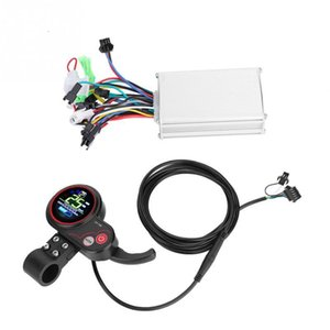 24V 36V 48V 60V Electric Bicycle Bike Scooter Controller LCD Display Control Panel with Shift Switch E-bike Accessories
