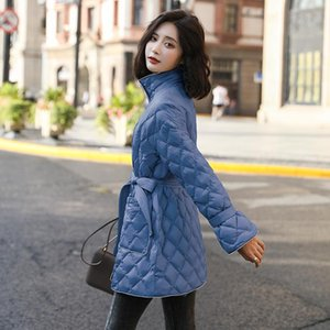 Winter 90% Wihte Duck Down Jacket Korean Style Light Coat Womens Coats And Jackets Mujer Chaqueta WPY1564 Women's & Parkas