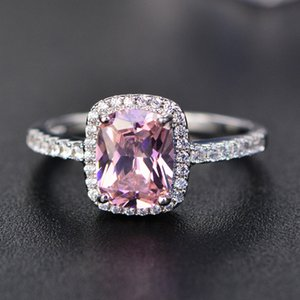 Big Promotion 3ct Real 925 Silver Ring SWA Element Diamond Emerald Gemstone Rings For Women Wholesale Wedding Engagement Jewelry New 881 Q2