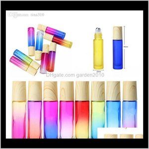 Packing Office School Business & Industrial Drop Delivery 2021 10Ml Gradient Glass Essential Oil Per Bottle Thick Wall Roll On Bottles Roller