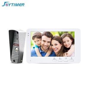 Jjoytimer 7 Inch Monitor Video Door Phone Doorbell Intercom 1200TVL Camera Record Unlock Home Security System Phones