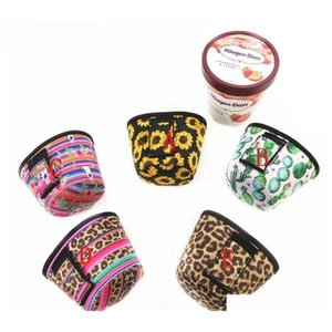 Tools Fashion Ice Cooler Koozie With Leopard And Cactus Neoprene Can Holder Cover 2Mocy C2Teb