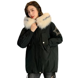 Women's Trench Coats Arrival Warm Thicken Ladies Coat Down Jacket Woman Korean Version Of Thick