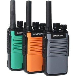 Walkie Talkie 2021 Baofeng Mini BF-V8 BFV8 Two Way Ham CB Radio Handheld Gray Green Orange Intercom UHF HF FM Transceiver 10 KM