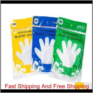 Household Cleaning Tools Housekeeping Organization Garden Ecofriendly Plastic Disposable Gloves Restaurant Service Catering Hygiene Fo