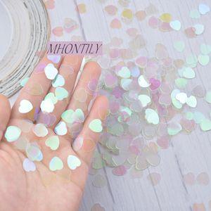1000Pcs Confetti Heart Sequins Wedding Table Decoration Bar Party Throw Confetti Gift Box Filler Wedding Supplies